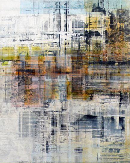 """Break-in 1, 2009, oil on canvas, 30"""" x 24"""" (76 x 61 cm)"""