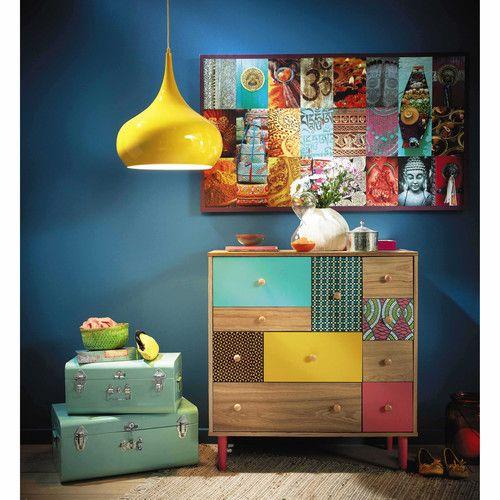 25 beste idee n over malle bois op pinterest malle for Malle decoration maison