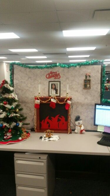 158 best Cubicle Holiday Decorating images on Pinterest ...