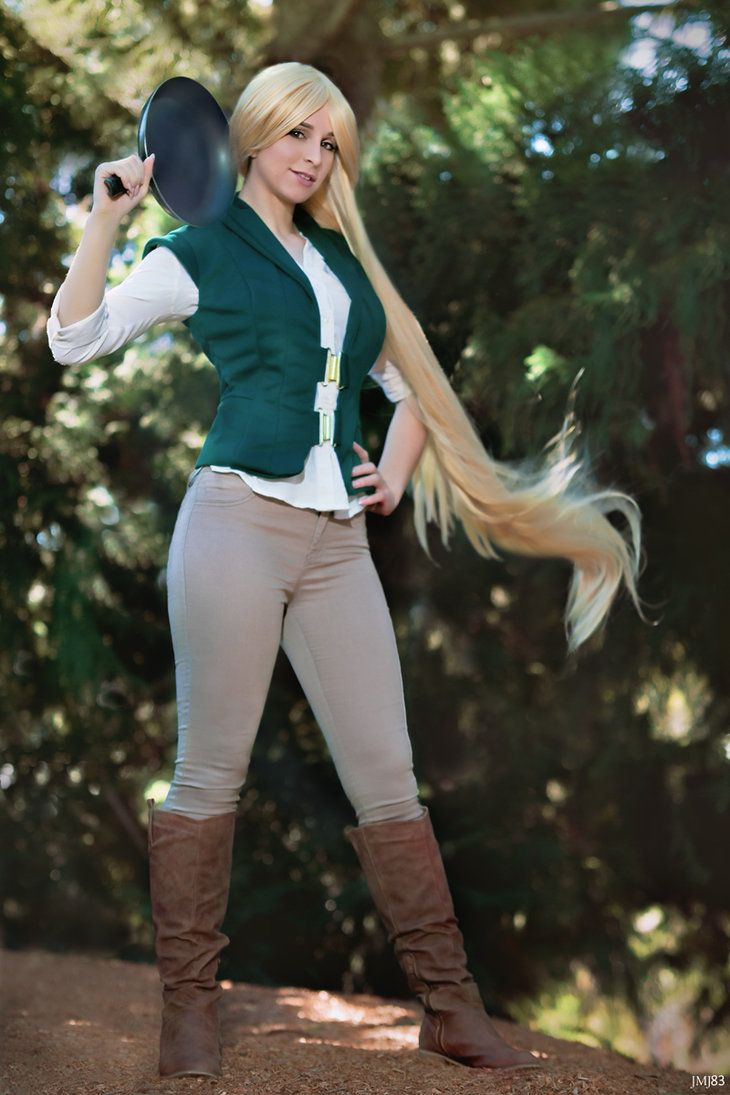 Rapunzel. I love this.