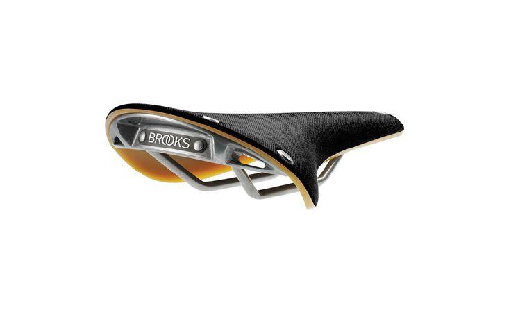 Brooks CAMBIUM C17 - Saddle black natural rubber