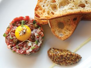 Steak Tartare prepared by Wright's At The Biltmore Restaurant | @ArizonaBiltmore, a Waldorf Astoria Hotel