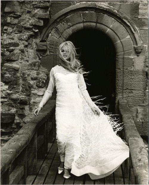 """Brigitte Bardot in """"A Coeur Joie"""", 1966 b/w"""