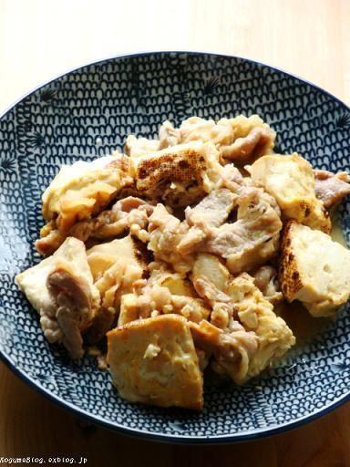 焼き豆腐の甘辛煮 by kogumaさん   レシピブログ - 料理ブログのレシピ ...