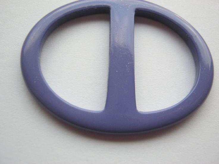 12 Stück kleine Gürtelschnallen ohne Dorn,Lila,Oval ca.40/30 mm,Steg ca.23 mm,Neu,Lübecker Knopfmanufaktur von Knopfshop auf Etsy