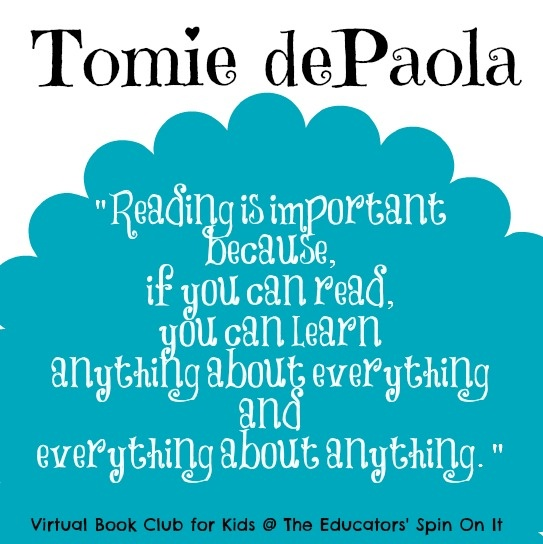 The Educators' Spin On It: Tomie dePaola Author Study and Virtual Book Club Activities