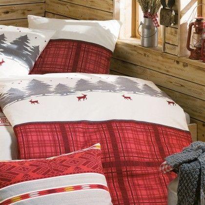 irisette biber bettw sche lana winterlandschaft online kaufen slapen pinterest. Black Bedroom Furniture Sets. Home Design Ideas