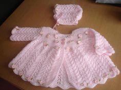 chambritas tejidas para bebe   Moda para bebés » Ropa tejida de bebé 4