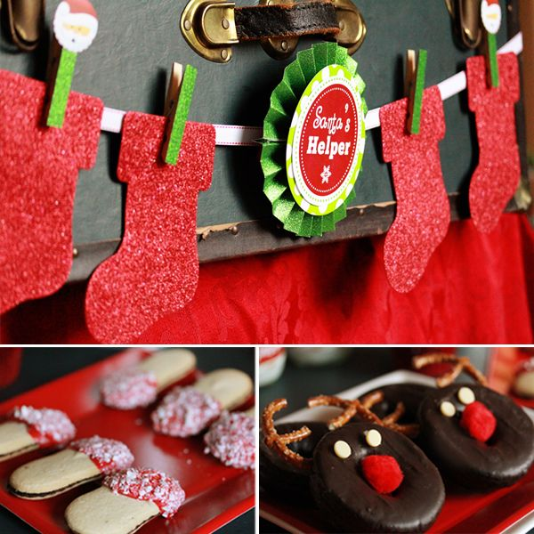 Christmas Party Ideas Kids Part - 21: Holly Jolly Christmas Party | | Karau0027s Party IdeasKarau0027s Party Ideas