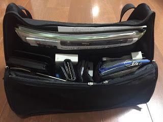 ビジネスバックの「ひらくPCバッグ」が最高に使いやすいのでご紹介|ビルメン王に俺はなる!