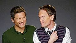 "Neil Patrick Harris And David Burtka Reenact The Spaghetti Scene From ""Lady And The Tramp""//adorable"
