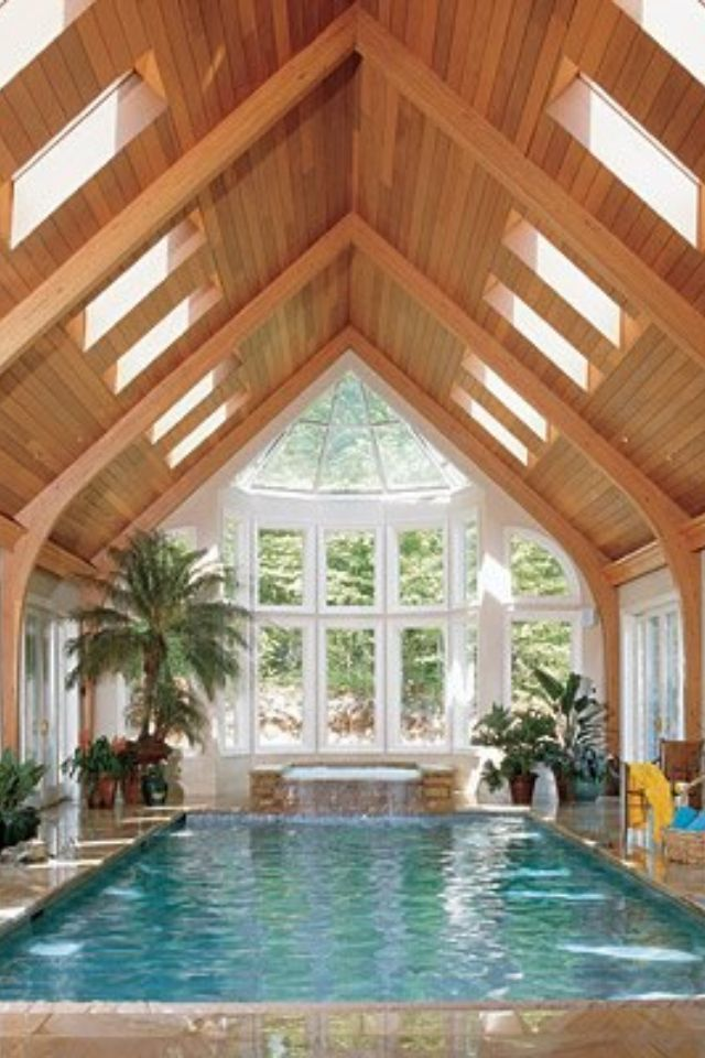 20 Over The Top Pools That Will Make You Long For Summer. Indoor Pools In  HousesIndoor ...