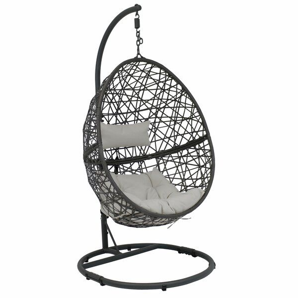 Abel Hanging Egg Swing Chair With Stand In 2020 Hanging Egg Chair Egg Swing Chair Hanging Chair Outdoor
