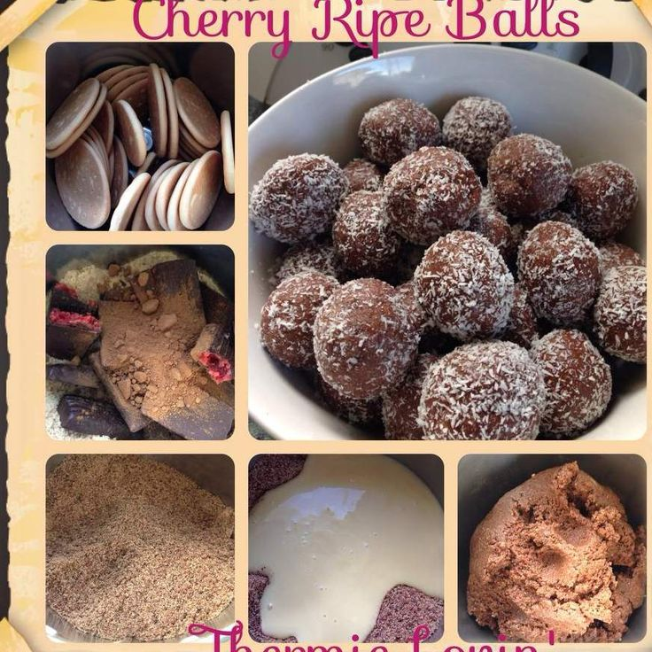 Recipe Cherry Ripe Balls by Thermie Lovin' - Recipe of category Baking - sweet