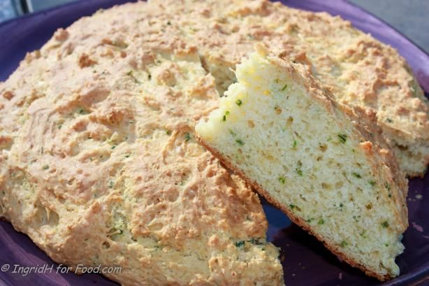 Australian Cheese, Garlic And Chive Damper Recipe - Cheese.Food.com - 175061