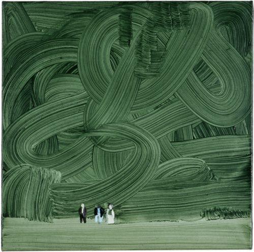 Wilhelm Sasnal, Forest, 2003