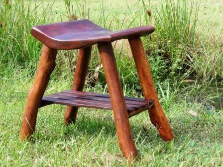 Kodama Series Ironbark Footsttol · Sticks FurniturePallet FurnitureRustic  ...