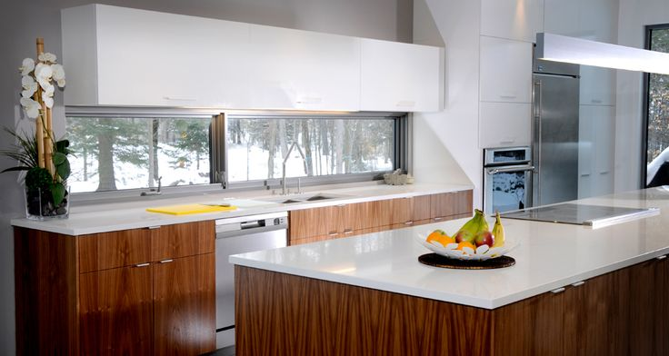Armoires de cuisine du style champ tre urbain for Armoire de cuisine style champetre