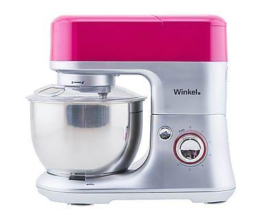 Robot de cocina en acero inoxidable y vidrio, rosa, 4 L - grande