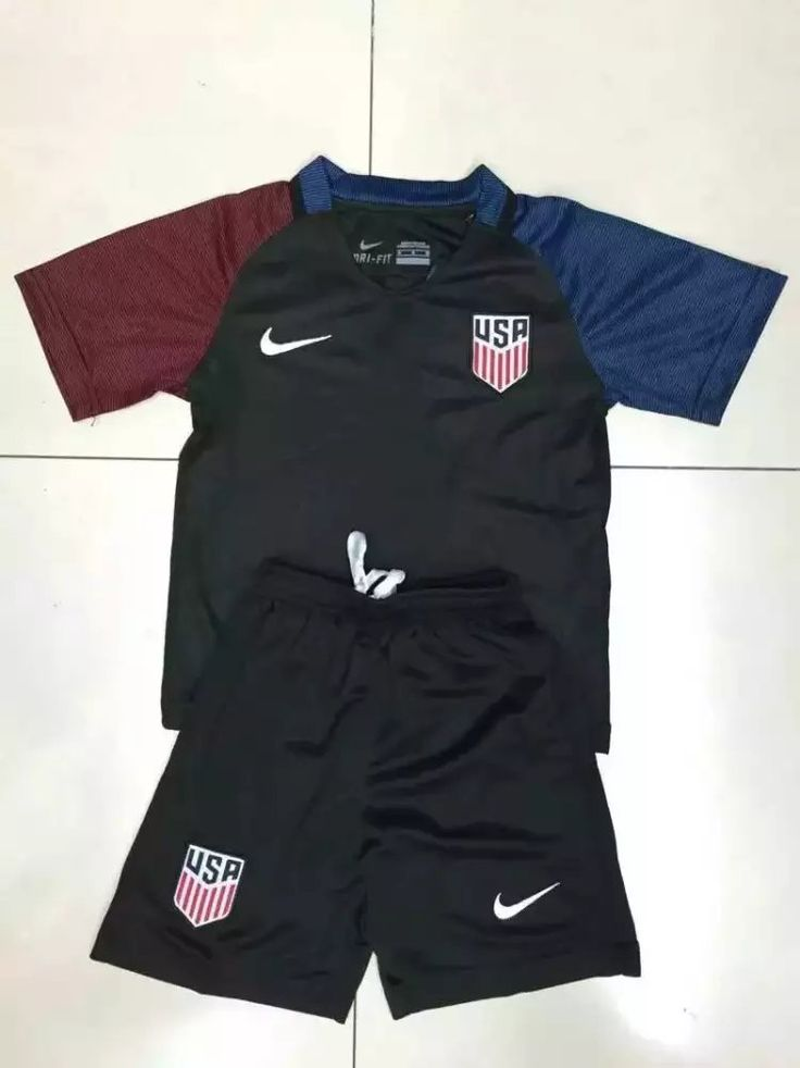 USA 2016 Away Kids Uniform