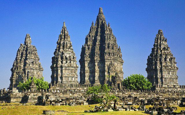 Prambanan, Hindu temple in Yogyakarta, Indonesia.