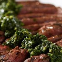 """David Venable's Grilled Chimichurri Flank Steak  David Venable's Grilled Chimichurri Flank Steak Rating:     (0 votes) 00 Grilling is usually dad's job. But this Father's Day, surprise him with a delicious steak recipe from QVC's """"Resident Foodie"""" David Venable.  Shared by StephanieK,"""