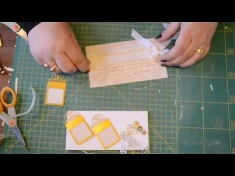 ▶ Blomsterbox card tutorial - YouTube