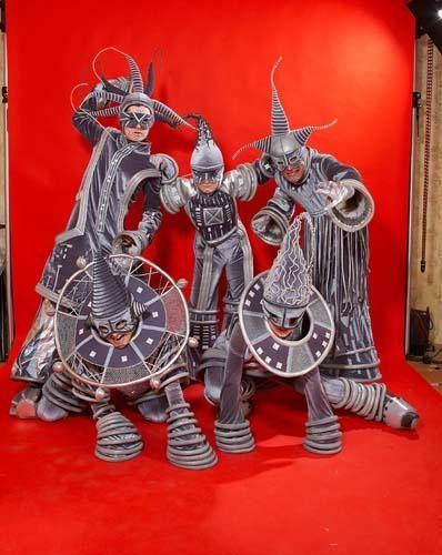 Сценические костюмы на тему космос