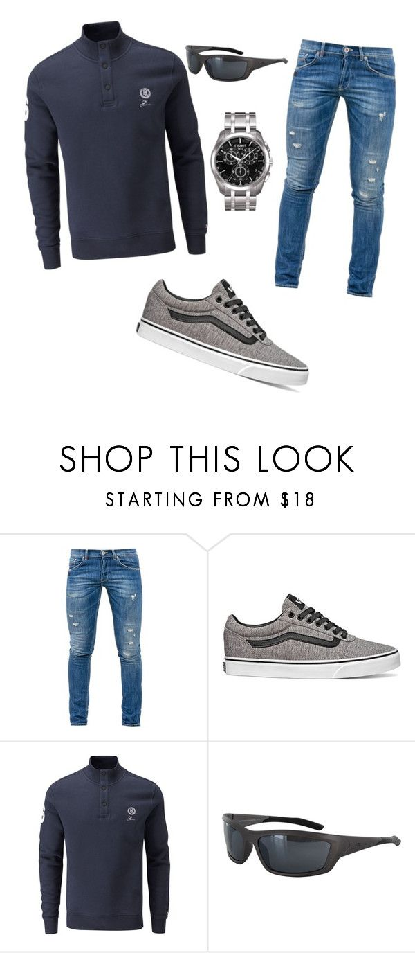 """""""sport day"""" by francymayoli ❤ liked on Polyvore featuring Dondup, Vans, Henri Lloyd, Vuarnet and Tissot"""
