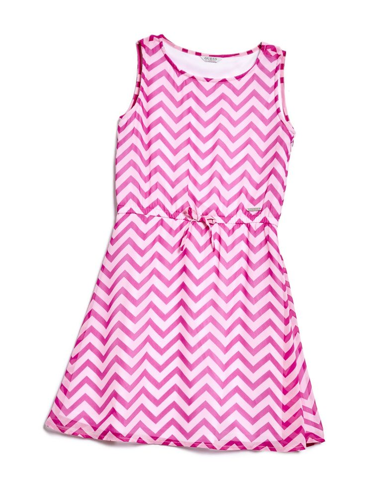 Jenna Chevron Dress (7-14)