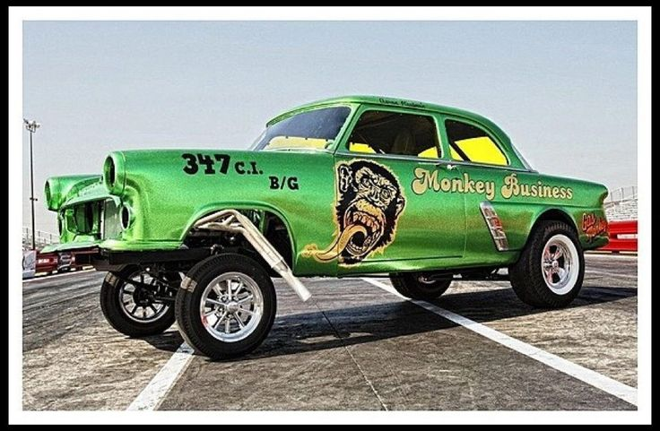 Gas Monkey Mega Race Car For Sale