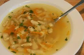 polévka s knedlíčky z droždí - Hledat Googlem