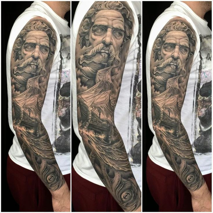 17 best images about art tattoos on pinterest medusa for Greek sculpture tattoo