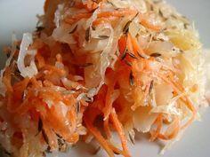 LA salade de choucroute crue d'Anne Brunner. Hyperbon, hypersain.