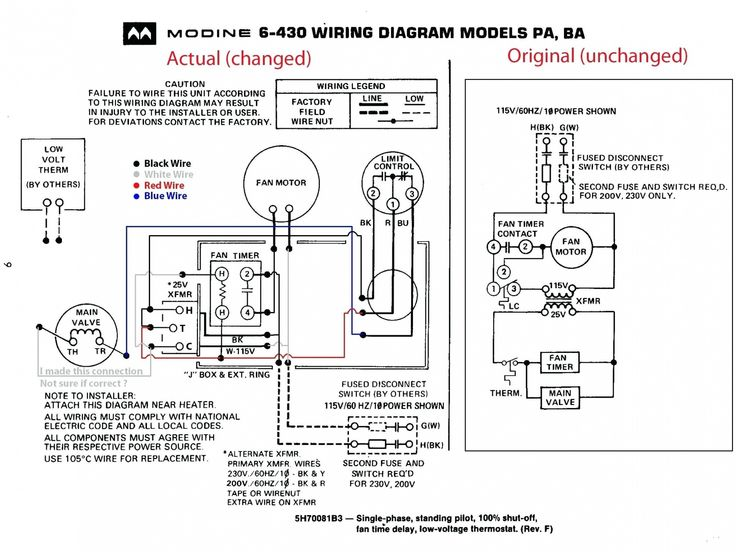 Intertherm Furnace Wiring Diagram Blue Wire