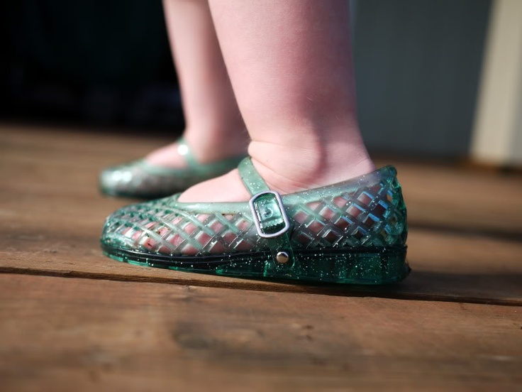 Gel shoes.  Another childhood memory.