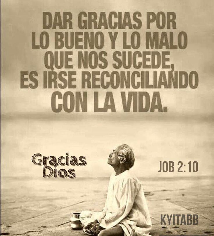 Job 2:10 #Gracias #Dios