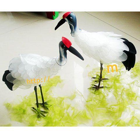 Photo gallery, Made from mesh nylon: Red top crane, (nvp000020)