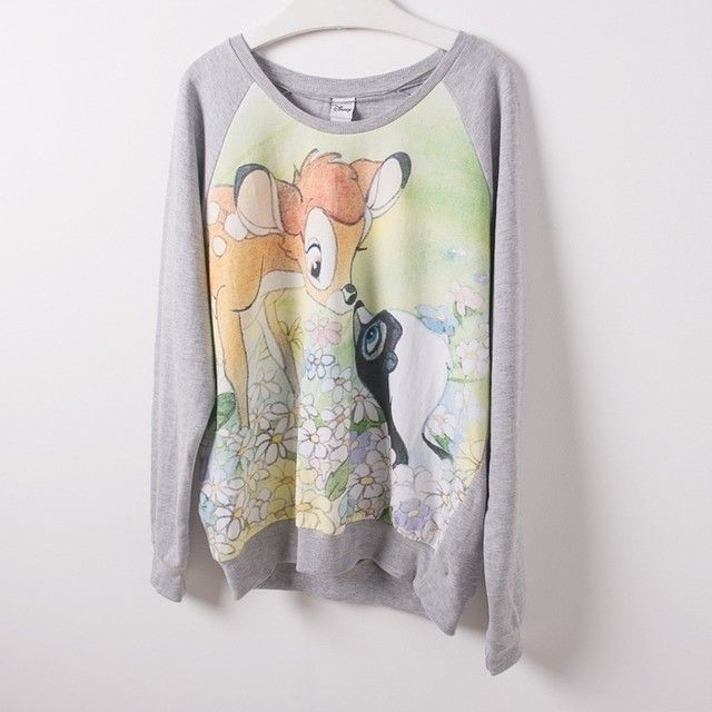 Loving this #Bambi jumper!  Feeling the #Disney #love.  Grab this jumper in our F&F #sale today.  #cute #awesome #lovethis #jumper #wantthis #fashion #style #shopaholic #fashionista #ozsale #ozsaleloves