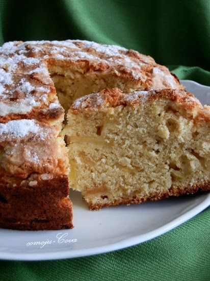 Bizcocho de Manzana. Irish Apple Cake