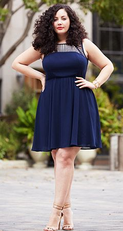girl with curves - dress obsessed