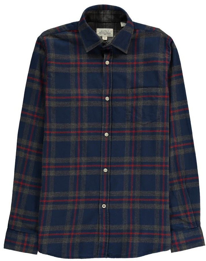HARTFORD Large Checked Flannel Paul Shirt