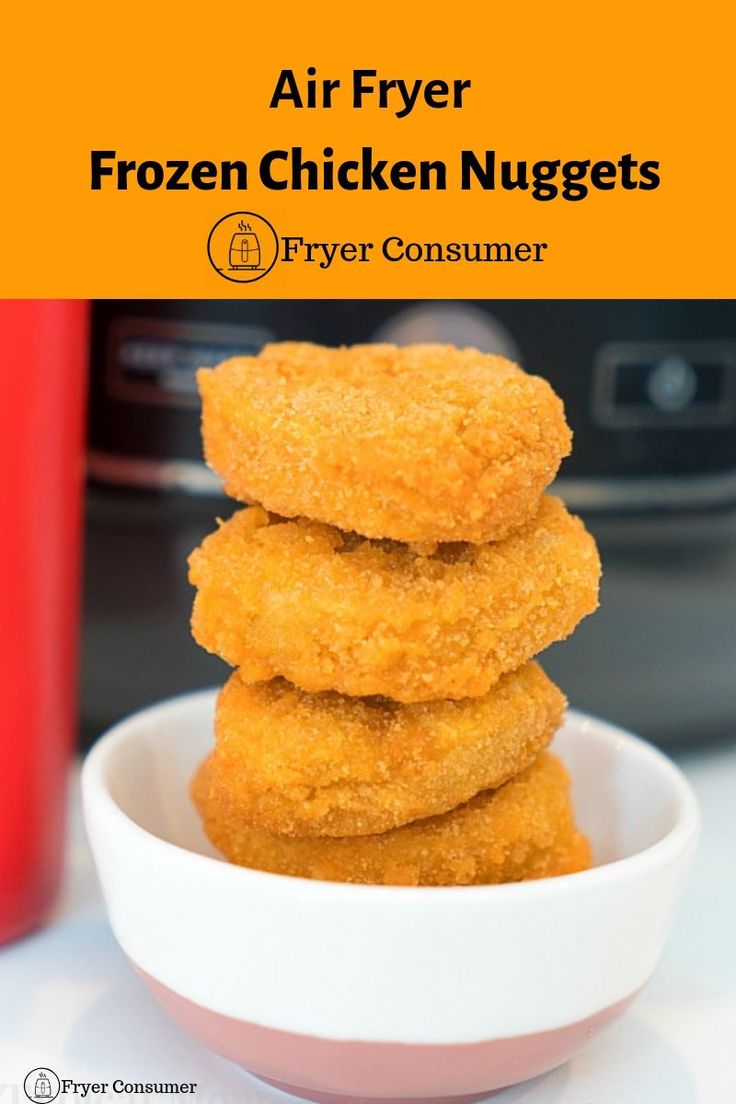 how to air fry chicken nuggets in ninja foodi