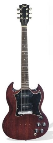 Vintage Gibson SG with P-90's.
