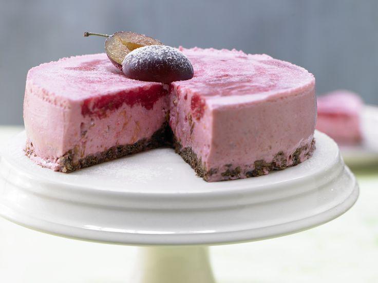 Zwetschgen-Knuspertorte - mit Schokoladenboden - smarter - Kalorien: 174 Kcal - Zeit: 35 Min.   eatsmarter.de Sieht diese Torte nicht einfach nur wunderbar aus?