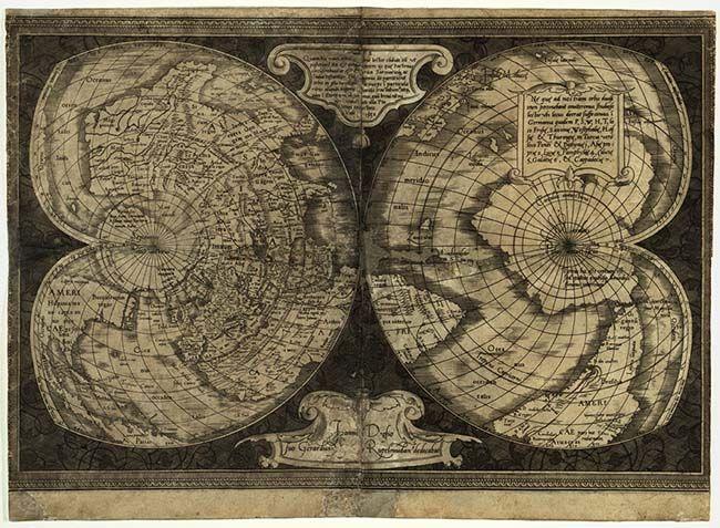メルカトルの地図 | 地図, 古地図, 古代