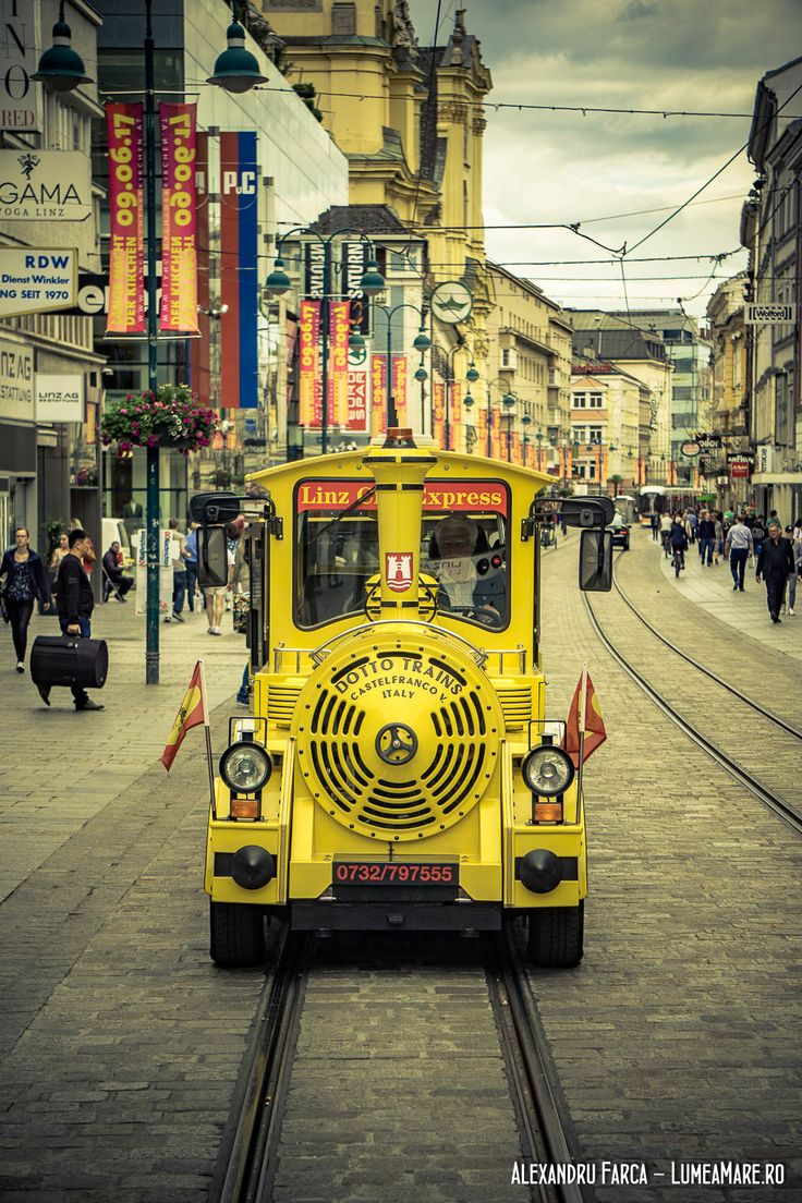 Linz City Express, tramvaiul turistic