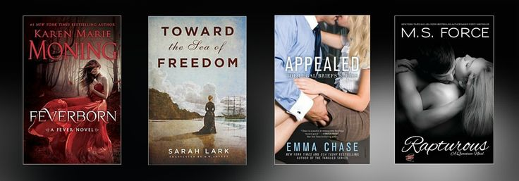 It's getting hot in here…that's right, the bestselling paranormal romance series continues this week with Feverborn, latest in the Fever series. It gets just as hot in the courtroom with Appealed, the next book in the Legal Briefs series. Don't miss any of this week's new romance books to read – – spice up your winter with the new releases below.
