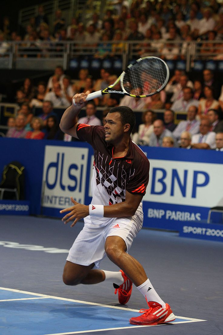 French top player Jo-Wilfried Tsonga at the 2011 ATP250 tennis tournament Moselle Open. #France #Lorraine #Moselle #Metz #tennis  #ATP #tournament #ATP250 #Tsonga #player #enjoymoselle