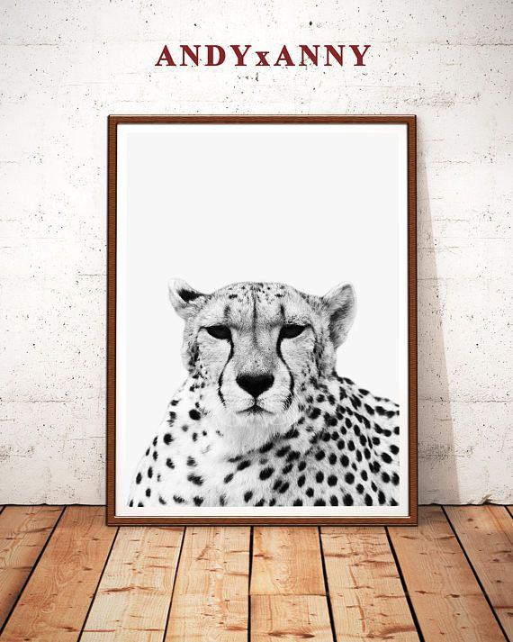 Cheetah Print Art Cheetah Photo Print Instant Download